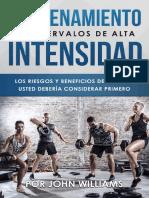 Introduccion al HIIT (Entrenamiento de Intervalderar primero (Spanish Edition) - John Williams