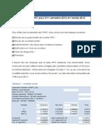 Prevision IHPC 2012 2013