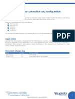 En Door Sensor Connection and Configuration