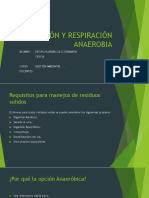 Oxidación y digestion anaerobia