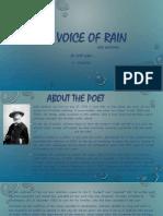 THE VOICE OF RAIN.pptx