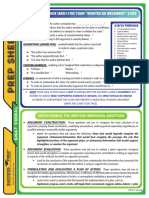 SP GMAT Verbal Prep Sheet