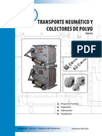Pneumatic Conveying & Dust Collection SPANISH, 4 Pages BRPCDC-001SP