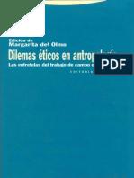 Del Olmo Margarita - Dilemas Eticos En Antropologia