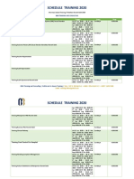 Informasi Jadwal Training Pelatihan Rumah Sakit 2020 - Surabaya