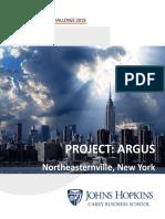 Argus Challenge 2019 - Team Johns Hopkins