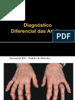 Diagnóstico Diferencial das Artrites - Paulo Louzada