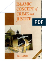 Islamic concept of crime and justice (Vol 2)
