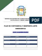 SGS-PLC04 PLAN CONTINGENCIA