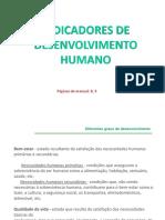 1º_Indicadores de desenvolvimento