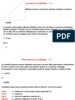 Introduzione all'uso di Matlab - presentazione