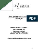 Projeto Cavalo Marinho Tanque 15m³
