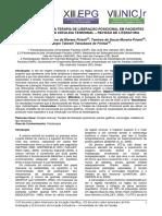 Análise Do Efeito Da Terapia de Liberação Posicional Em Pacientes Com Cervicalgia e Cefaleia Tensional Revisão de Literatura