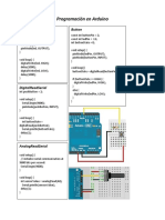 Programación en Arduino