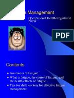 Fatigue Management.ppt