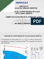03 CAMBIO EN EL FONDO DEL CANAL