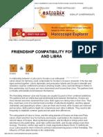 Friendship Compatibility for scorpio Sunsign And libra Sunsign _ scorpio-libra friendship