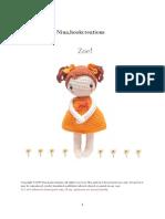 muñeca de amigurumi pdf