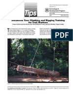 USDA Forest Service Advanced Tree Climbing and Rigging Training for Trail Workers