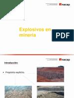 Explosivos en mineria
