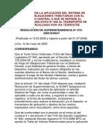 NORMAS PARA LA APLICACIÓN DEL SISTEMA DE PAGO DE OBLIGACIONES TRIBUTARIAS CON EL GOBIERNO CENTRAL