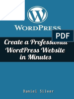 WordPress Create a Professional WordPress Site in Minutes.pdf