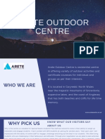 Arete Outdoor Centre Uk