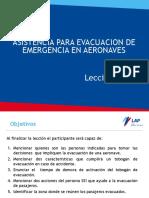 Lección VIII Asistencia para evacuacion de aeronaves