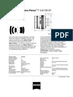 Makro Planar 135 f5.6