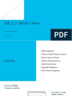 ISE 2.3 Whats New