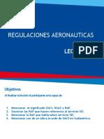 Leccion XI Regulaciones Aeronauticas SEI