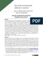 Martins e Viana (2019) Por uma visão de linguagem ciborgue e coletiva