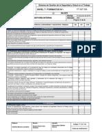 111. FT-SST-084 Formato Auditoría Interna