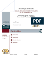 Tema 22. Implementación y Mejora de Entornos de IC.