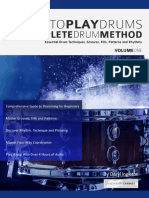 Learn to Play Drums the Complete Drum Method Volume 1