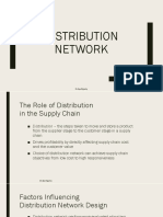 Distribution network