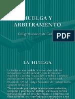 HUELGA Y ARBITRAMENTO