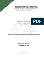 Caracterizacion de Los Procesos Administrativos