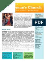 st germans newsletter - 29 dec 2019 - christmas i