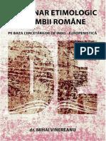 (Dictionar) Mihai Vinereanu - Dicționar etimologic al limbii române pe baza cercetărilor de indo-europenistică-Alcor Edimpex (2008)