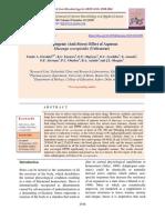 Adaptogenic (Anti-Stress) Effect of Aqueous Musanga cecropioides (Urticaceae)