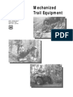 USDA Forest Service_Mechanized Trail Equipment