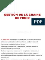 CHAINE DE FROID