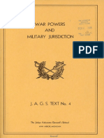 War Powers and Military Jurisdiction, J.A.G.S. Text No. 4 (1 December 1943).pdf