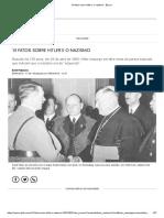 13 fatos sobre Hitler e o nazismo - Época.pdf