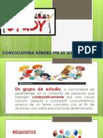 CONVOCATORIA NUMERO 998 DE 2019
