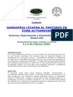 GANADERIA LECHERA AL PASTOREO E