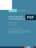 DASA DevOps Fundamentals_Mock Exam_English
