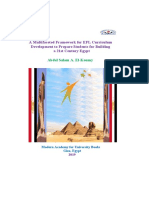 A Multifaceted Framework for EFL Curriculum Development to Prepare Students for Building a 21st Century Egypt