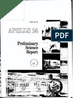 Apollo 14 Preliminary Science Report